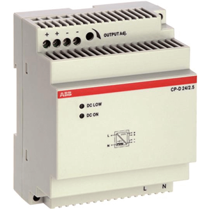 ABB DCPS 24V 2.5A 100-240 1PH IN