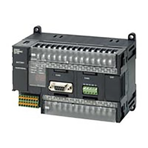 OMRON MICRO PLC CPU 24 IN 16 OUT AC PS B