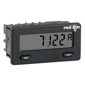 RLC DC CURRENT METER WITH REFLECTIVE DIS