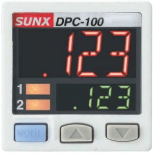 SUNX PRESSURE CONTROLLER FOR DP-H NPN 2M